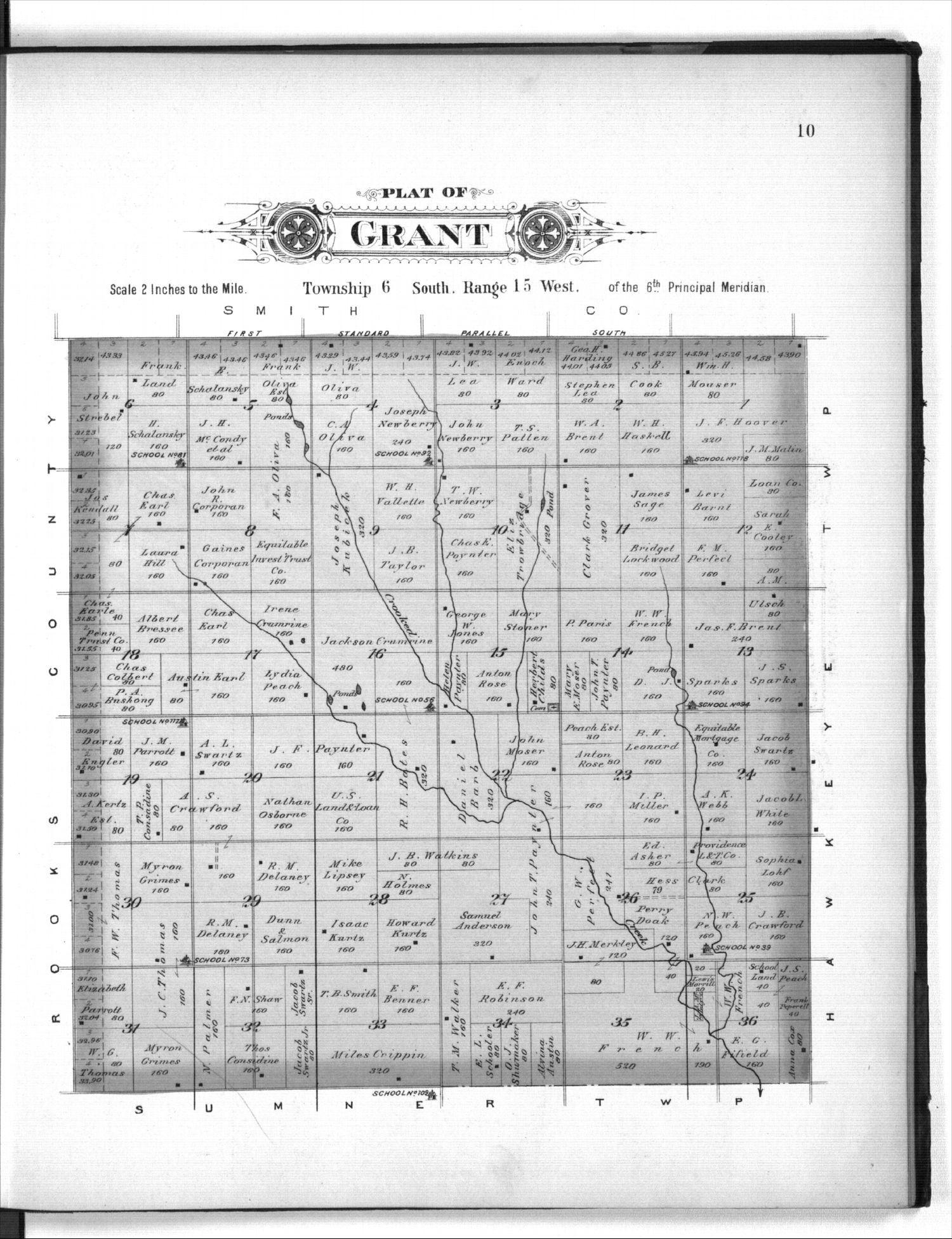 Plat book of Osborne County, Kansas - 10
