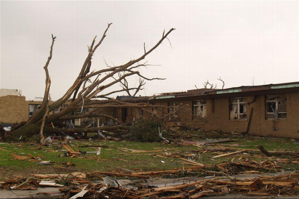 Tornado damage, Greensburg, Kansas - 6