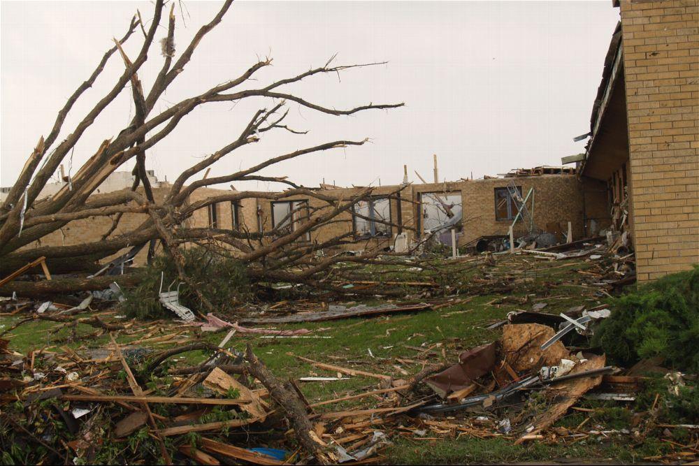 Tornado damage, Greensburg, Kansas - 7