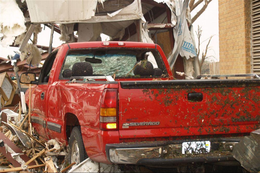 Tornado damage, Greensburg, Kansas - 9
