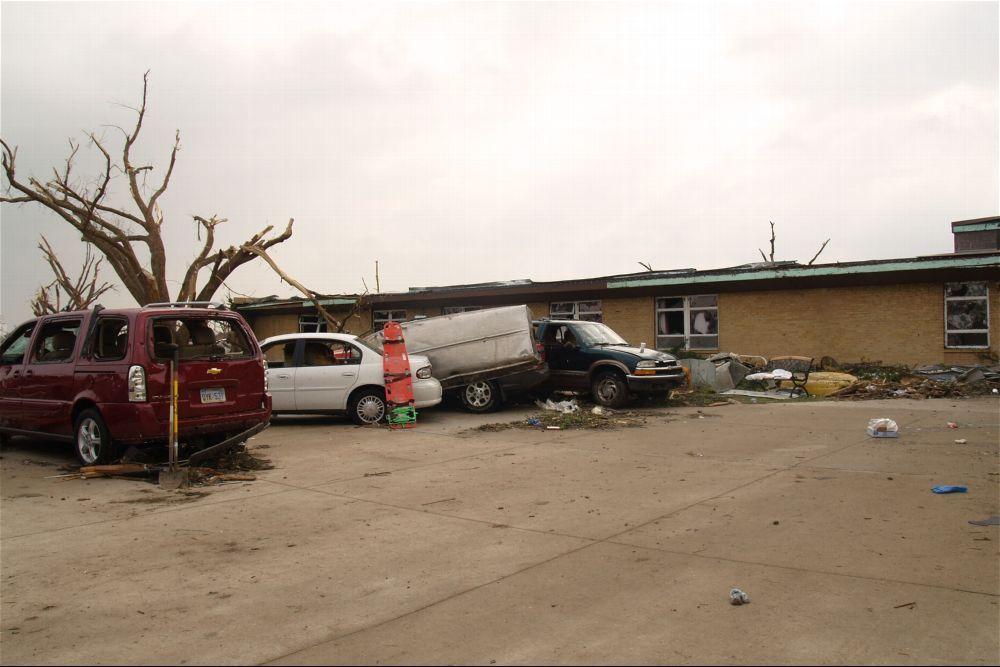 Tornado damage, Greensburg, Kansas - 10