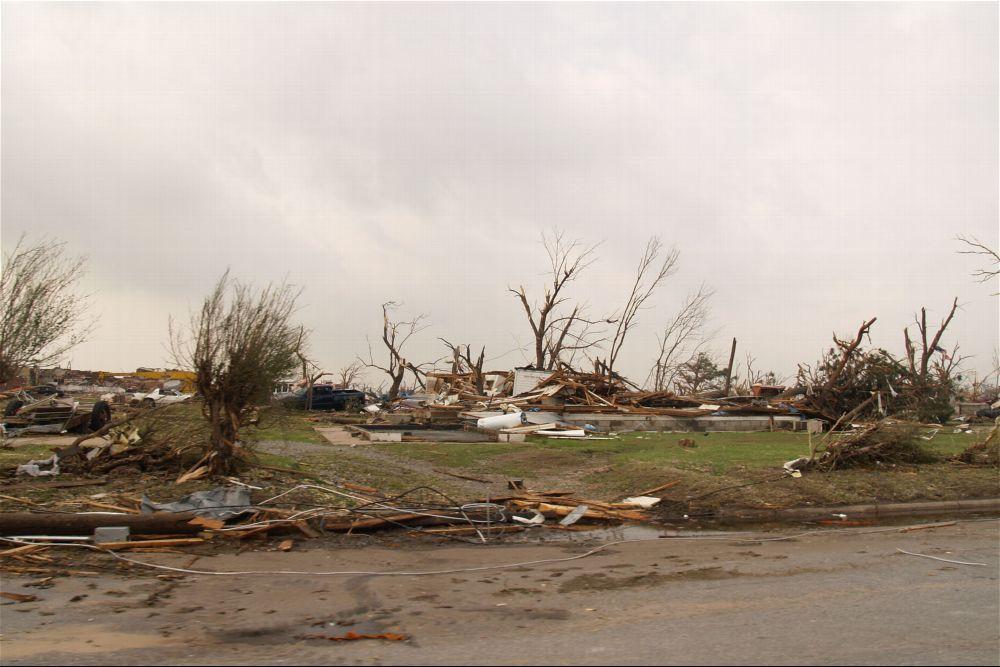 Tornado damage, Greensburg, Kansas - 11