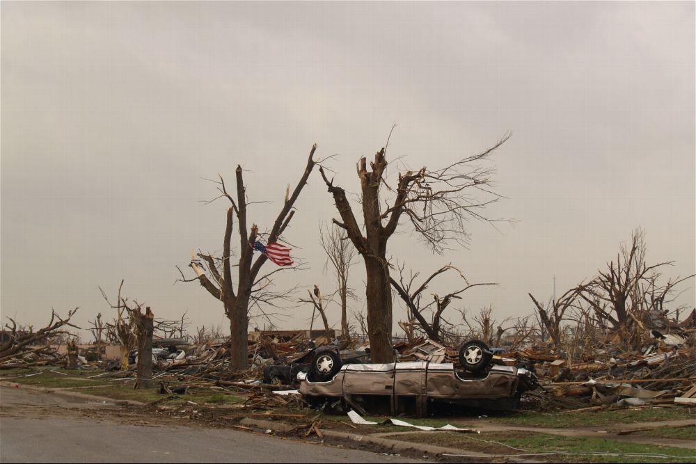 Tornado damage, Greensburg, Kansas - 12