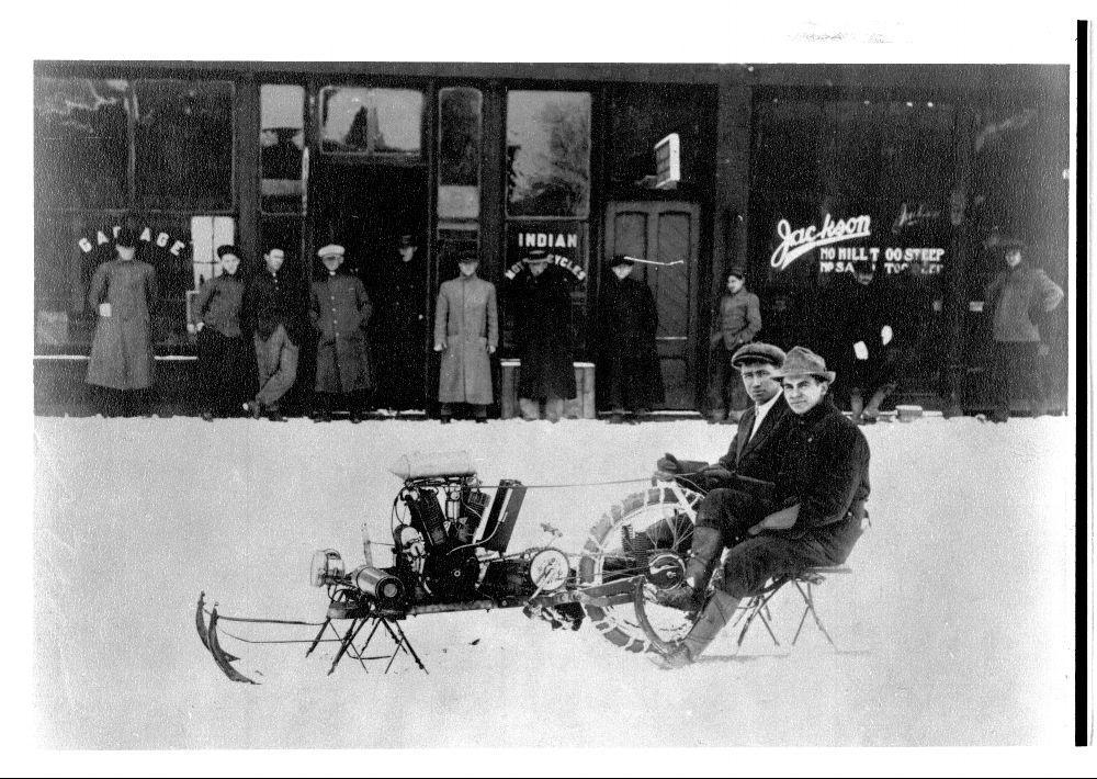 Snowmobile, Clay Center, Kansas