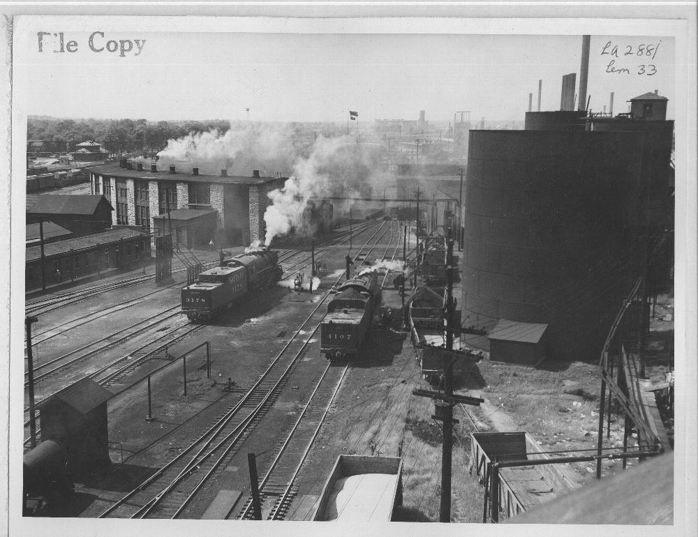 Atchison, Topeka and Santa Fe Railway Company yard, Kansas City, Kansas