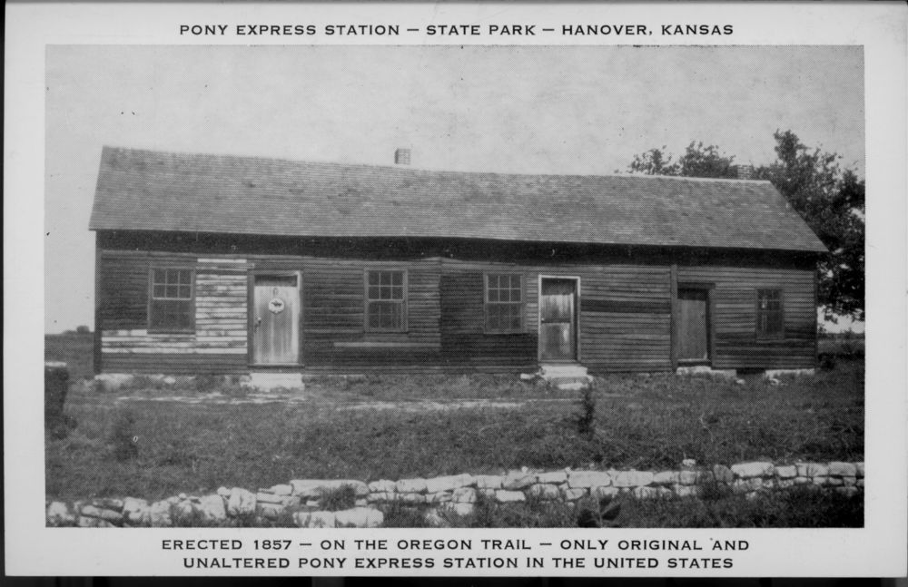 Image of Hollenberg Pony Express Station in Hanover, Kansas