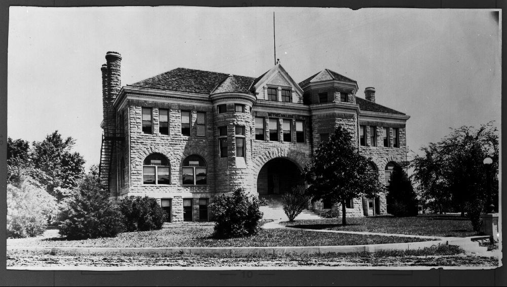 Administration Bulding, Bethel College, Newton, Kansas