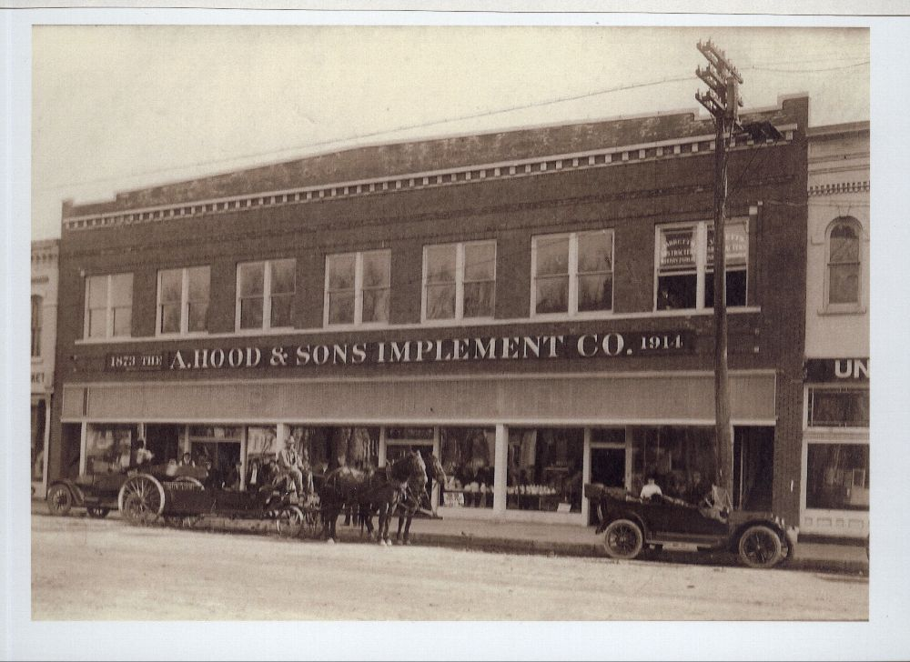 A. Hood & Sons Implement Company, Columbus, Kansas