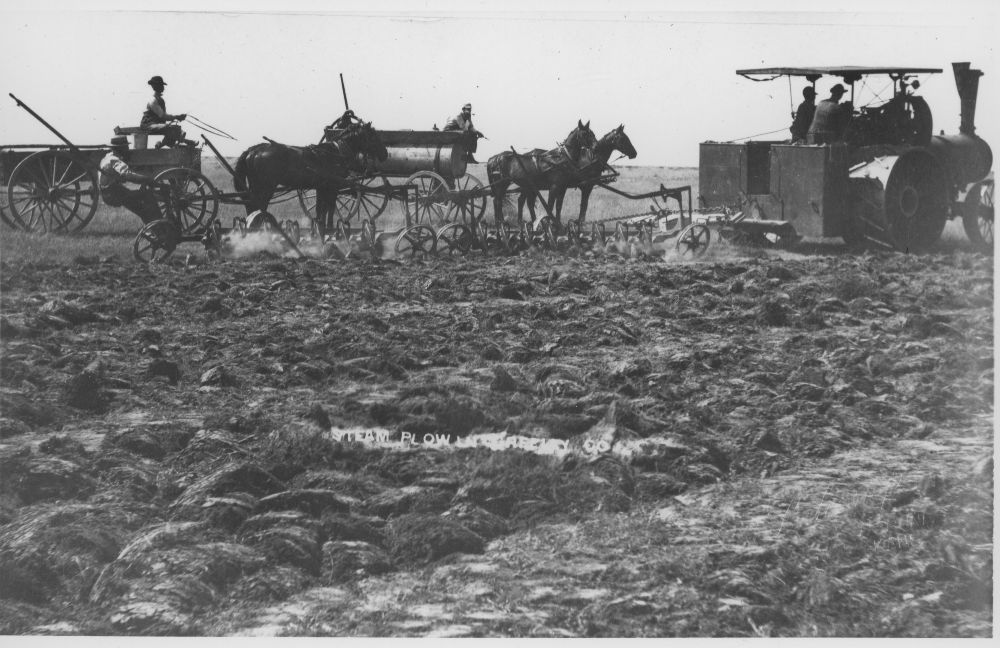 Farming in Greeley County, Kansas