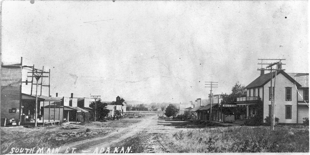 South Main Street, Ada, Kansas