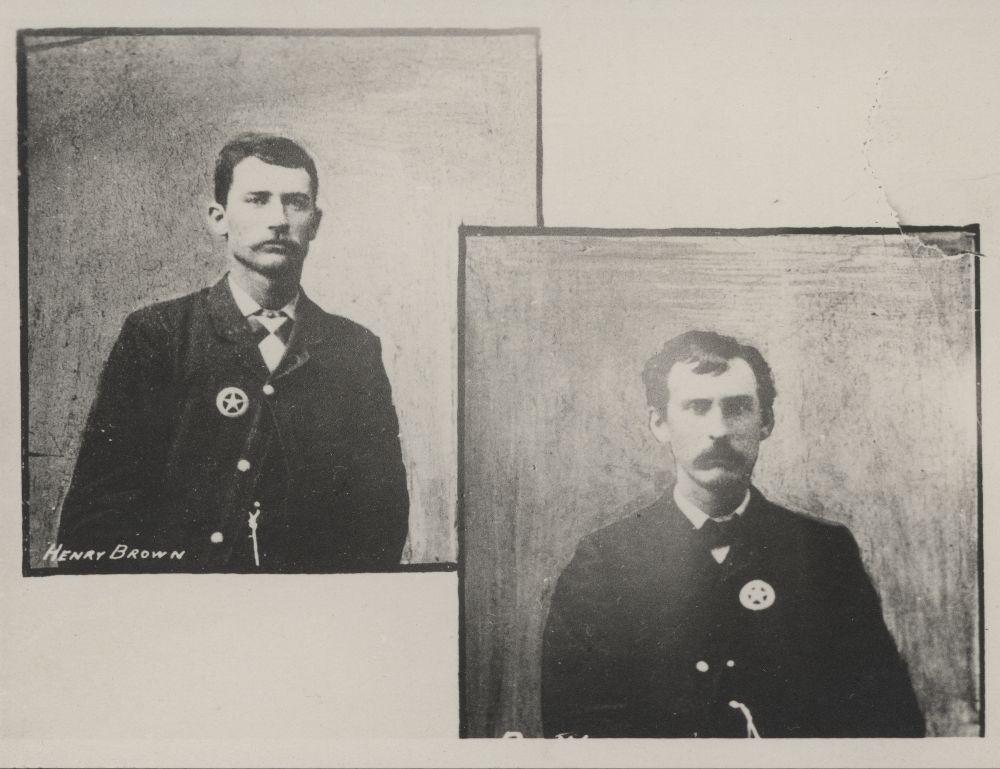 Henry Newton Brown and Ben Wheeler