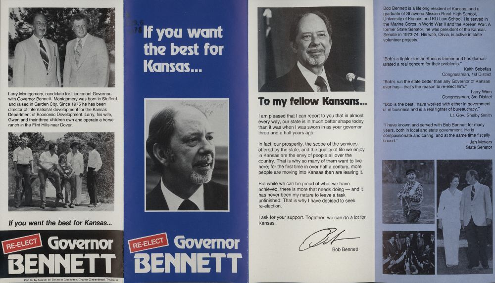 Re-elect Governor Bennett - 1