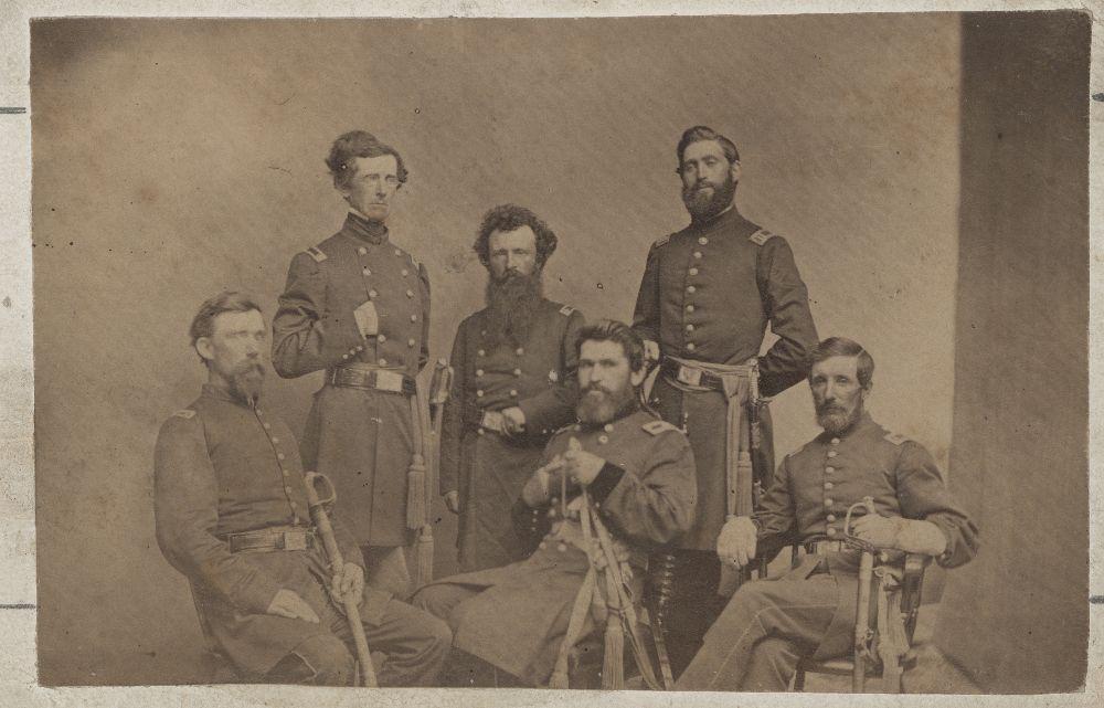 James Gillpatrick Blunt and staff