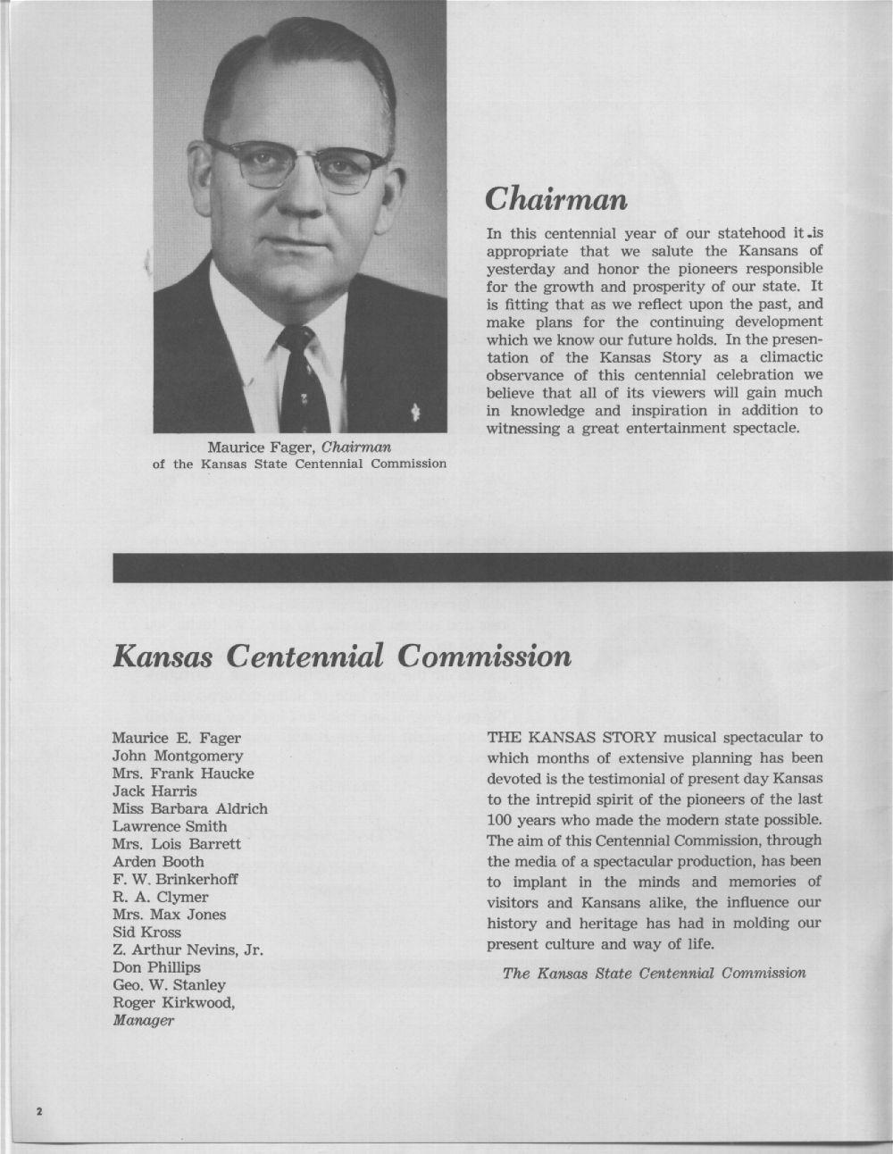 The Kansas story - 2