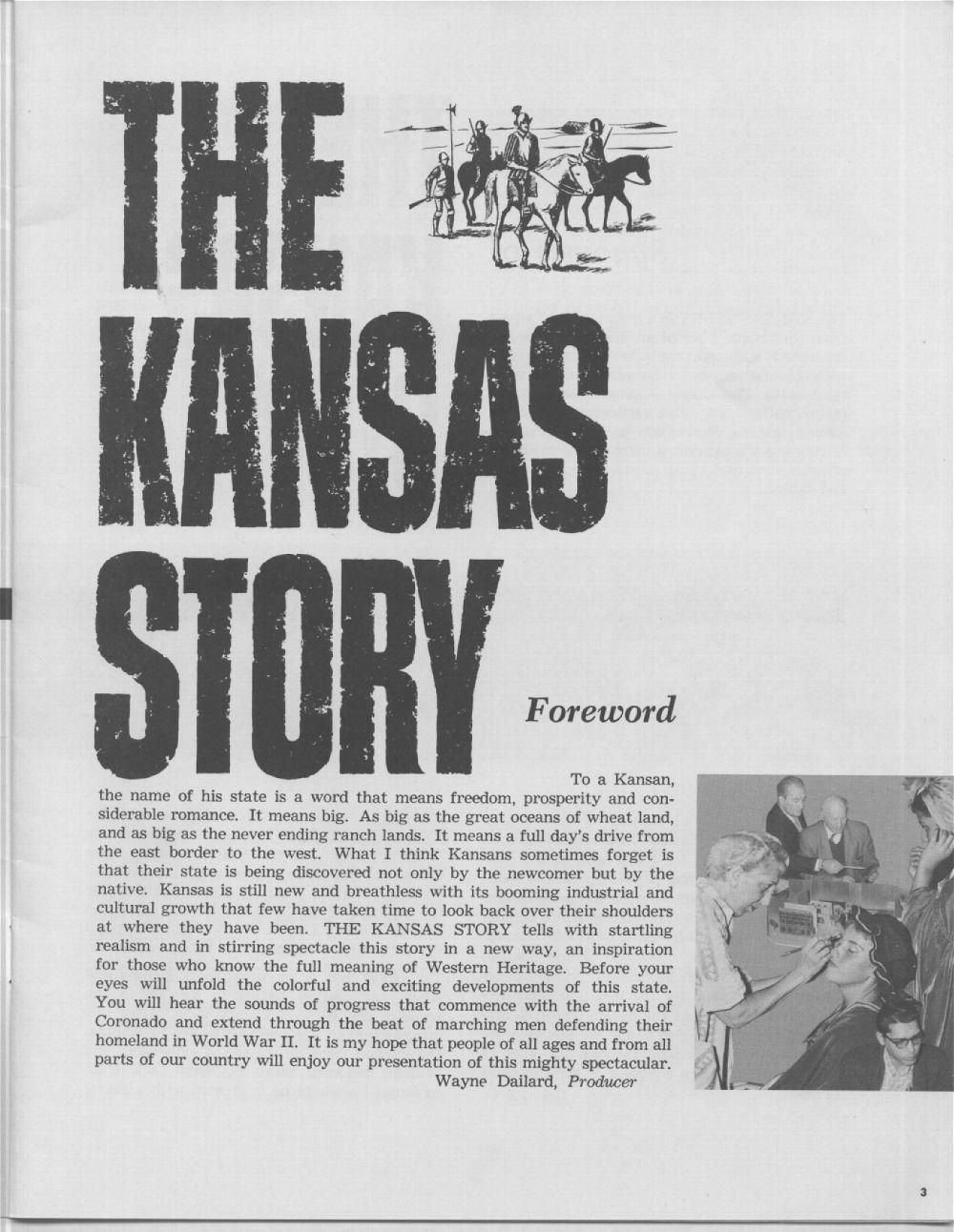 The Kansas story - 3