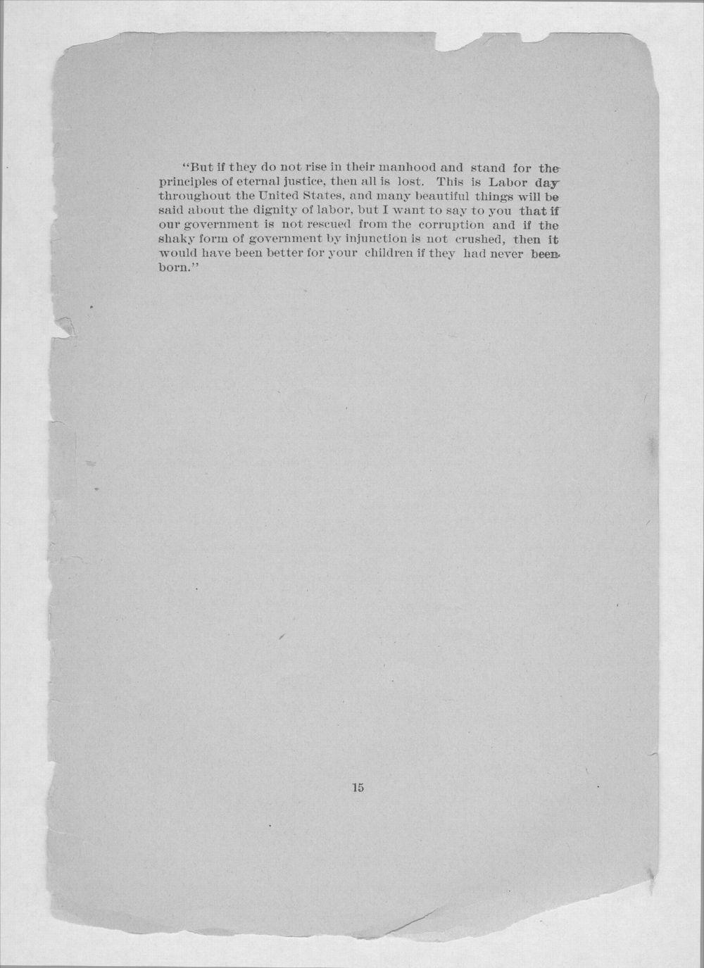 Altgeld's great speech - 15
