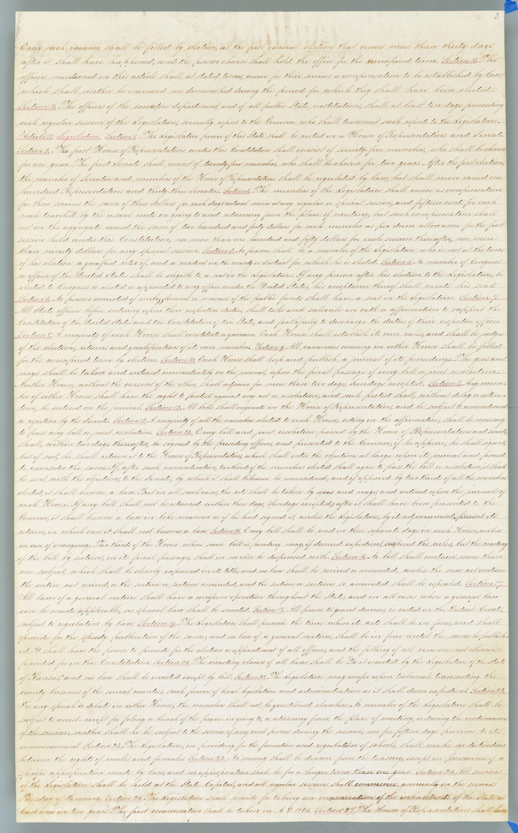 Wyandotte Constitution - 3