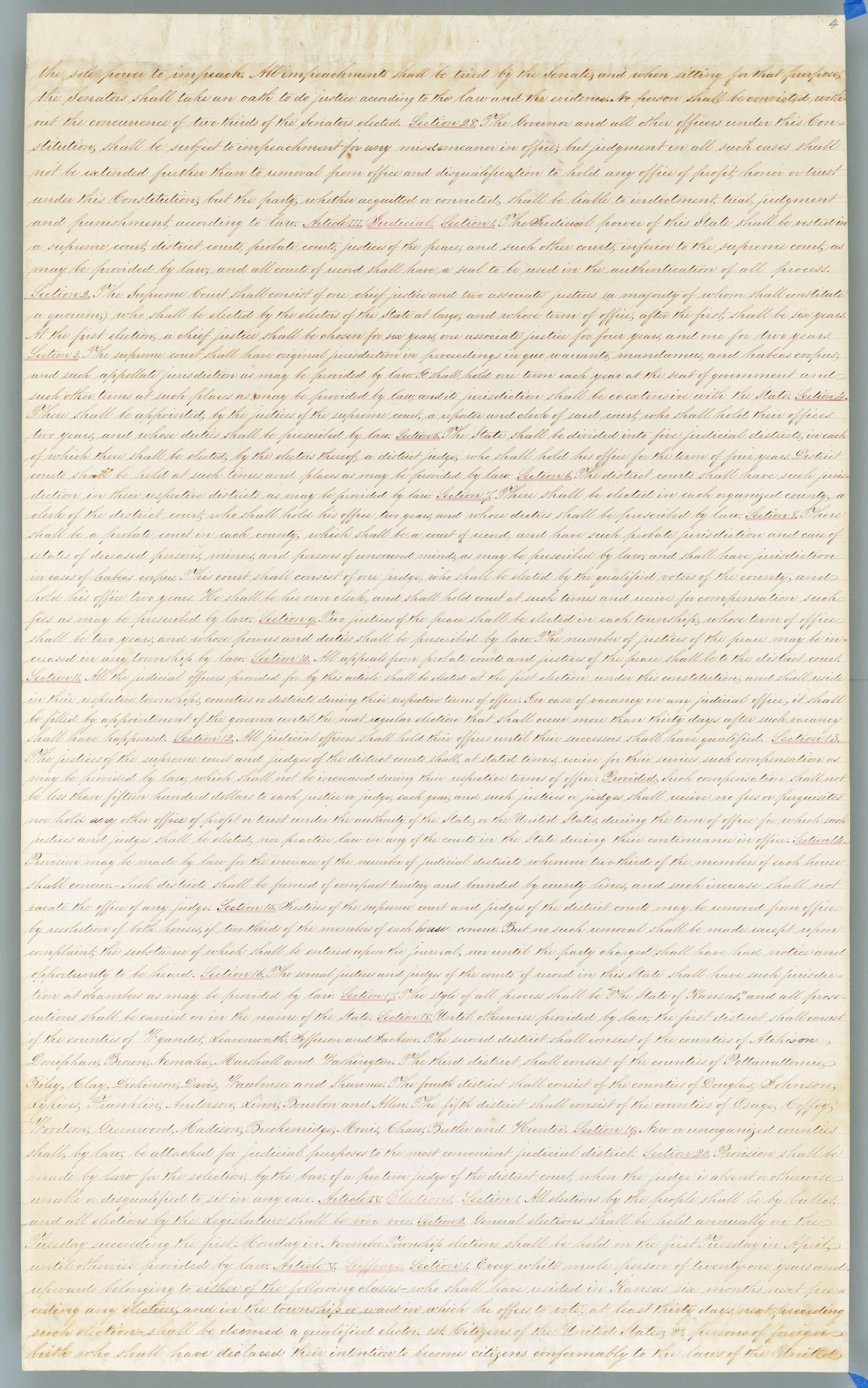 Wyandotte Constitution - 4