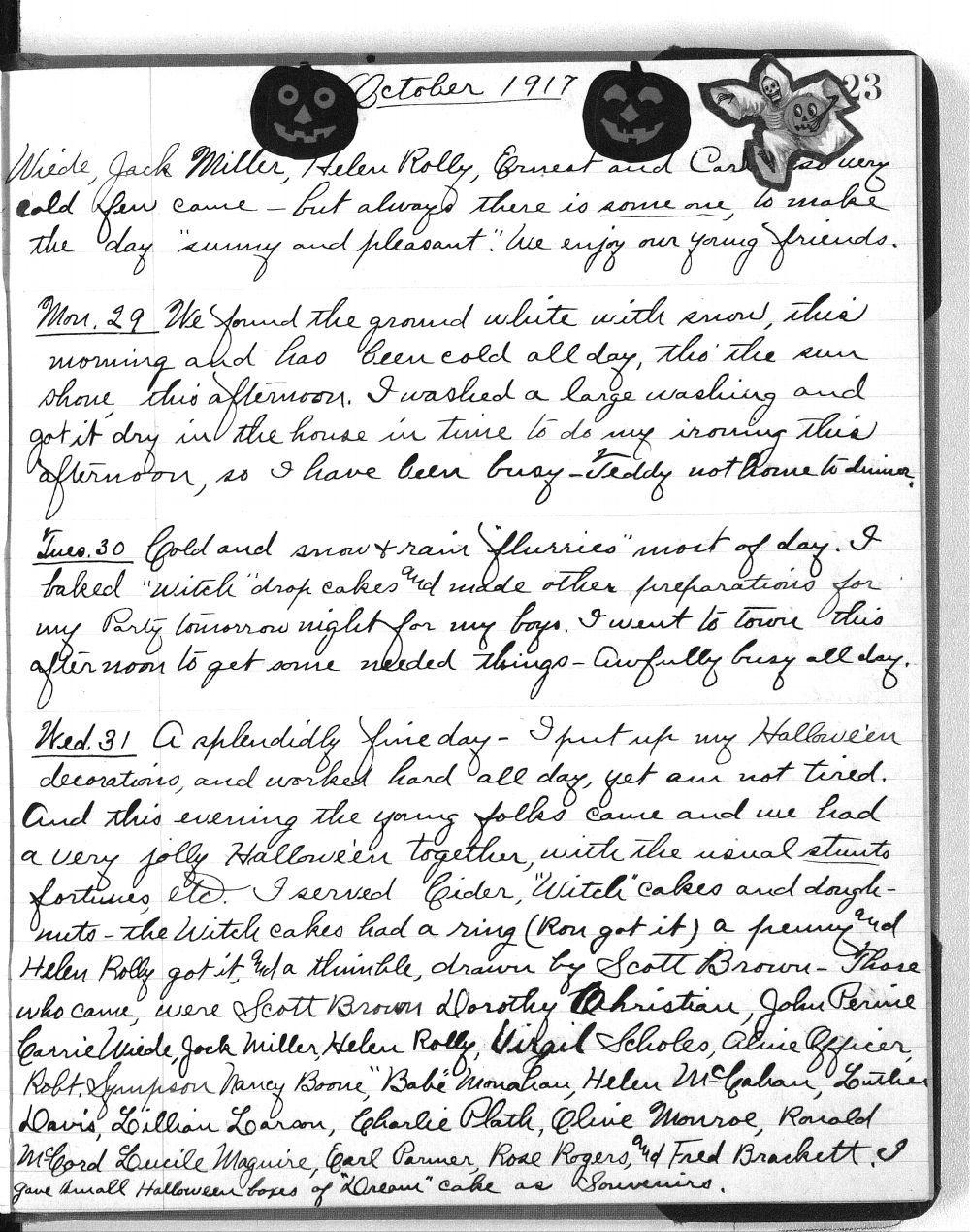 Martha Farnsworth diary - 123