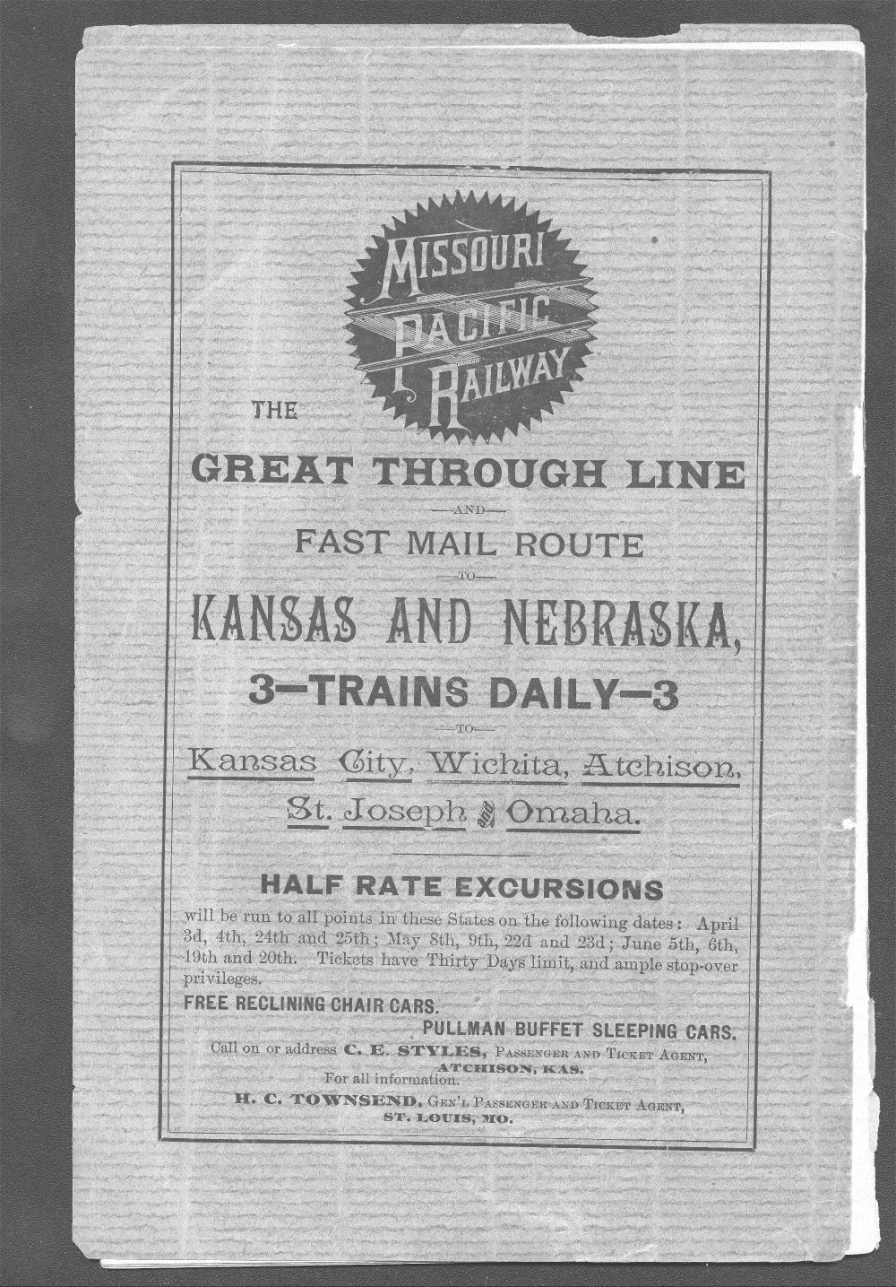 The advantages Northern Kansas offers to home seekers and land buyers - Back Cover