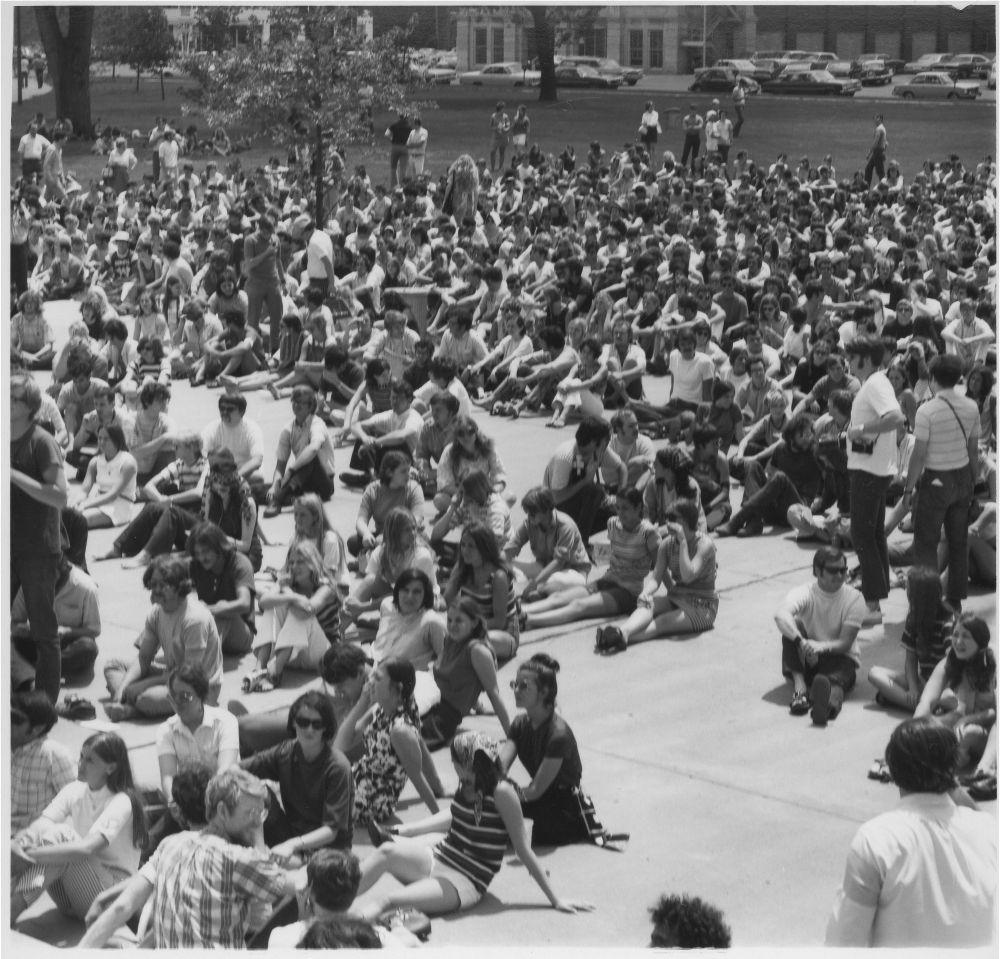 Anti-war rally, Topeka, Kansas