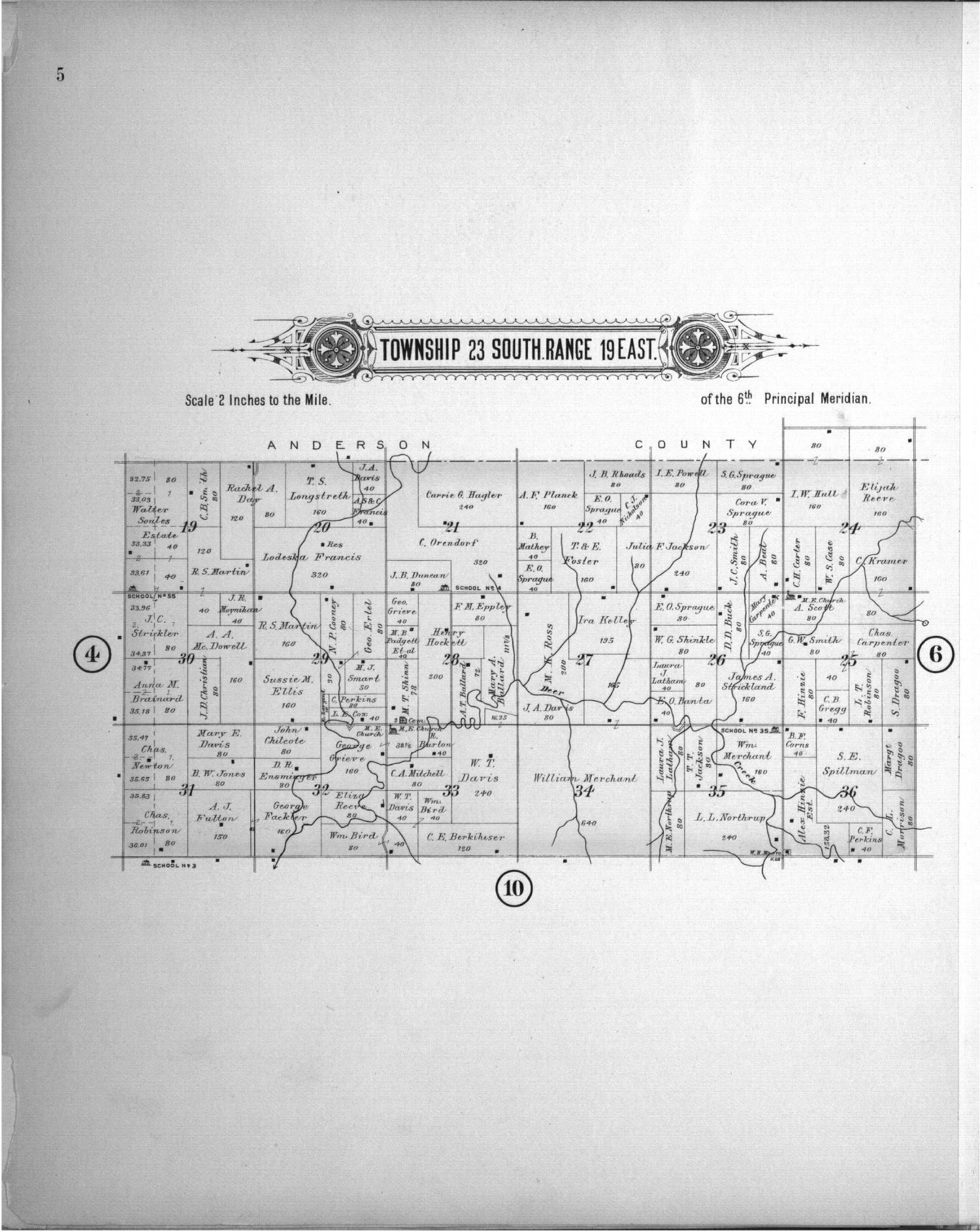 Plat book of Allen County, Kansas - 5
