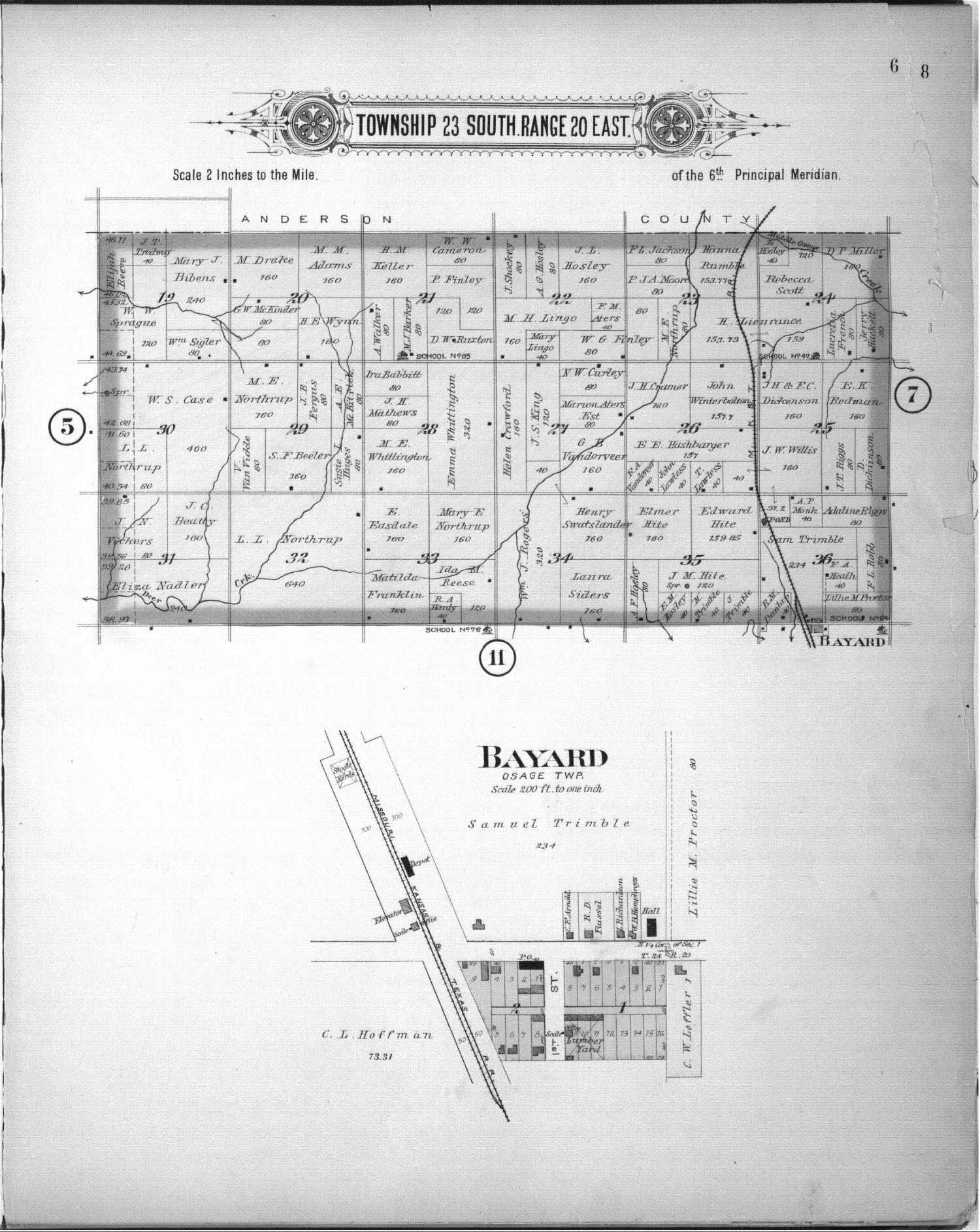 Plat book of Allen County, Kansas - 6