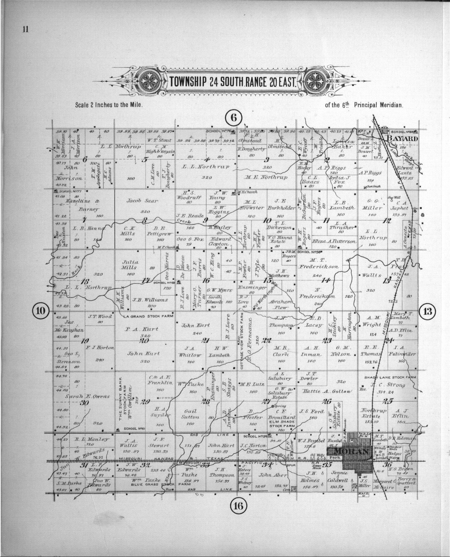 Plat book of Allen County, Kansas - 11