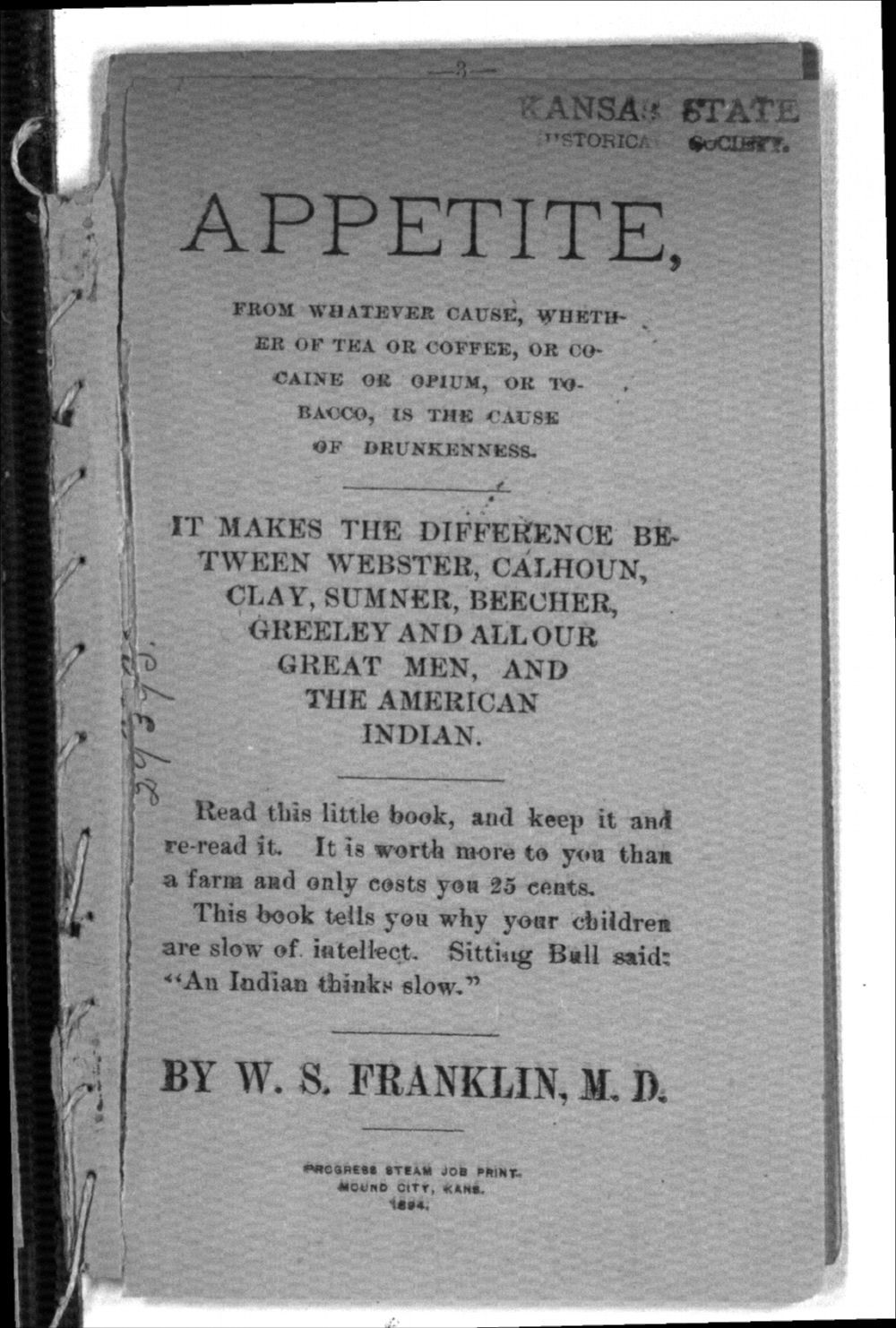 Appetite - Title Page