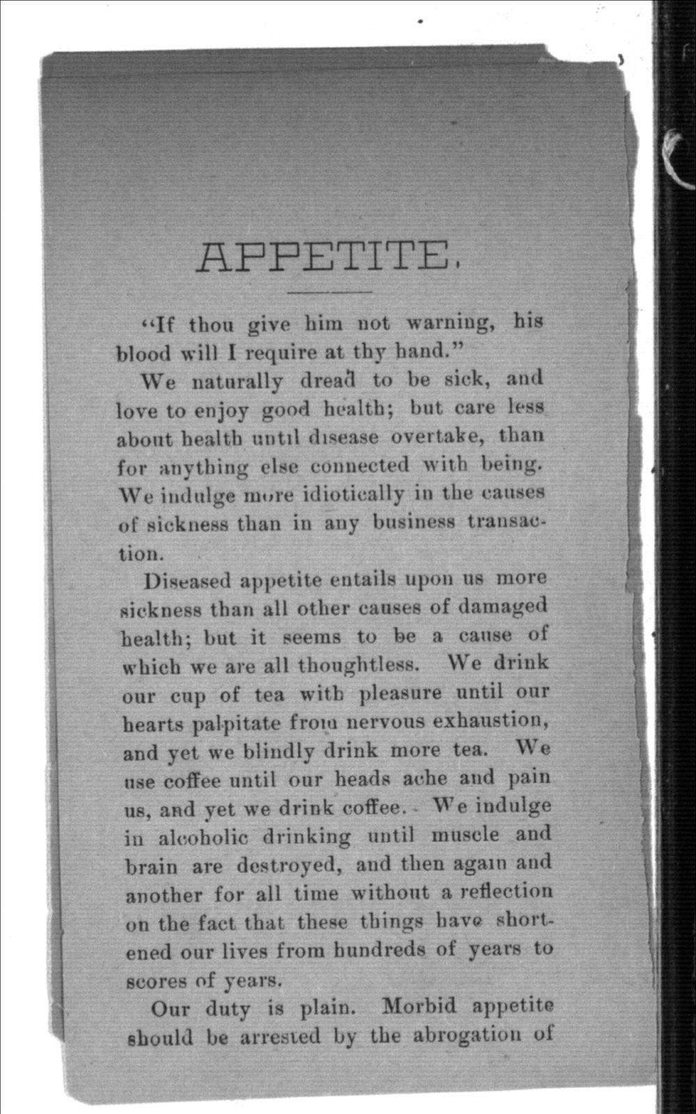 Appetite - 2