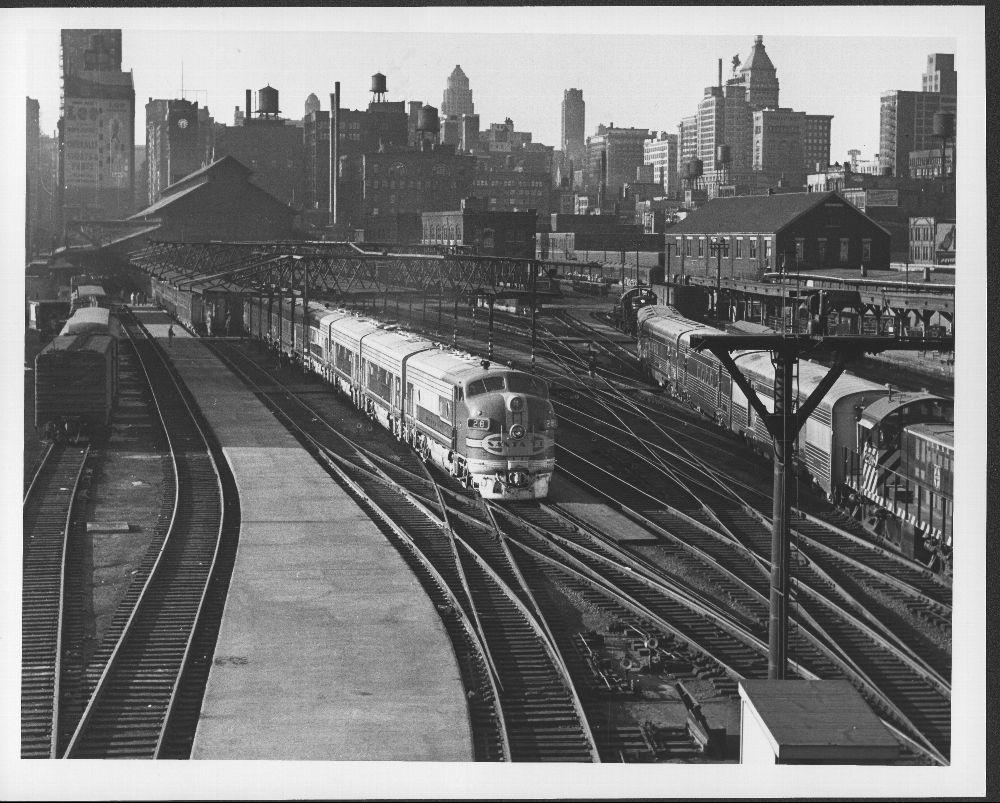 Atchison, Topeka, and Santa Fe Railway Company's El Capitan, Chicago, Illinois