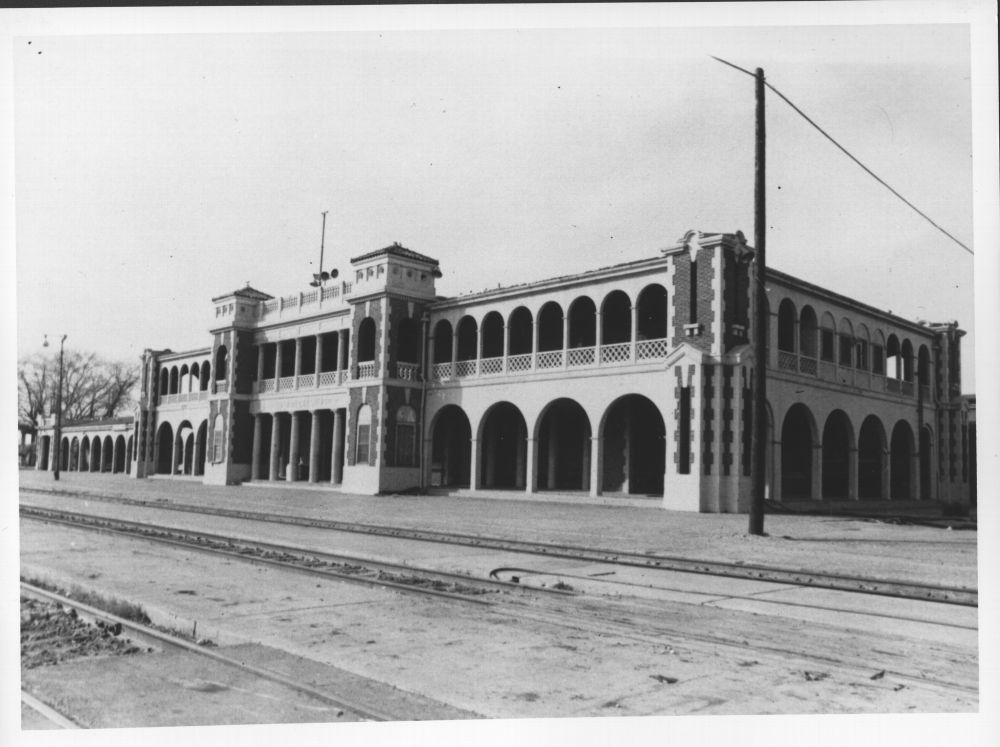 Atchison, Topeka and Santa Fe Railway Company depot, Barstow, California