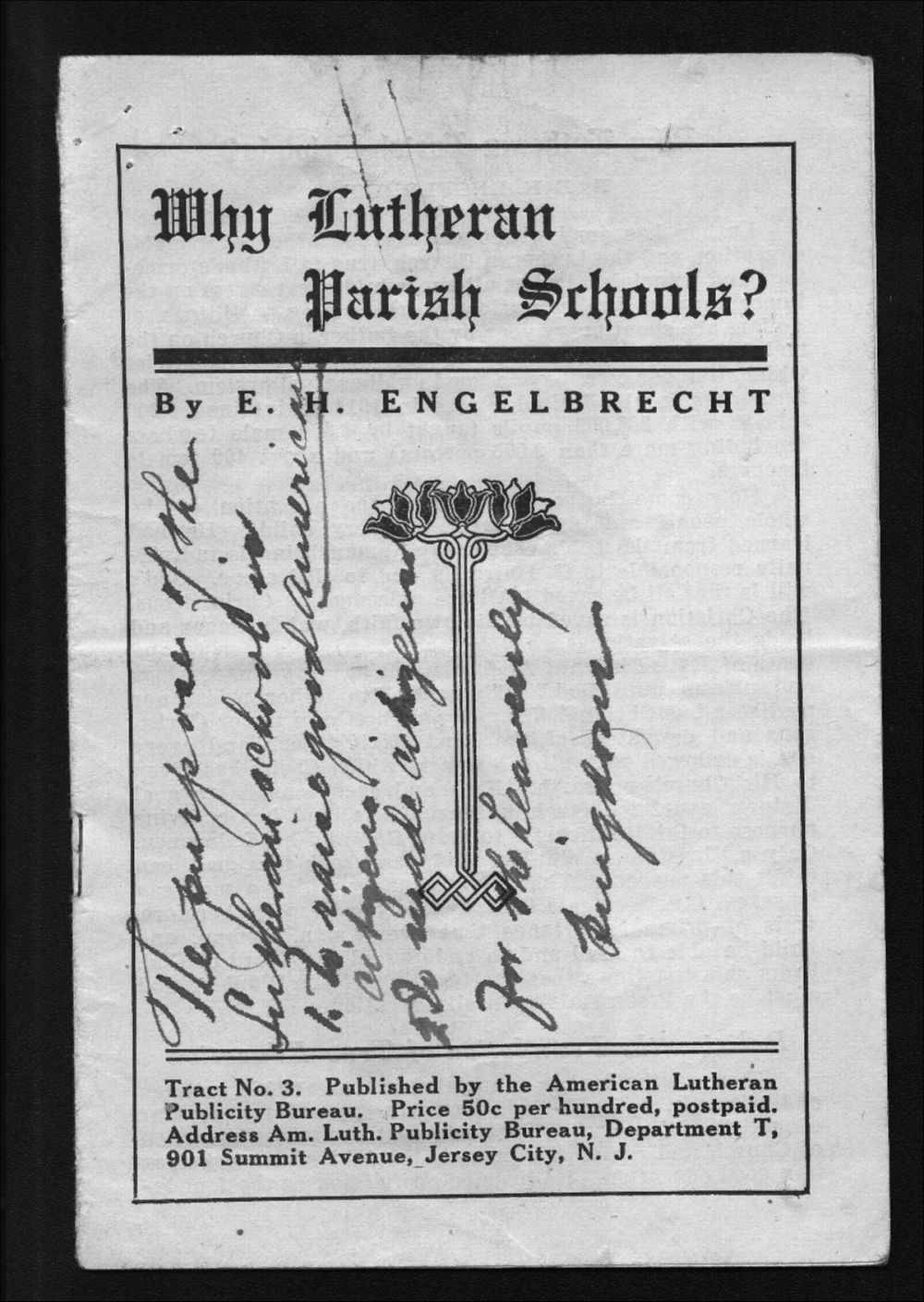 Lutheran Church protests correspondence - 4