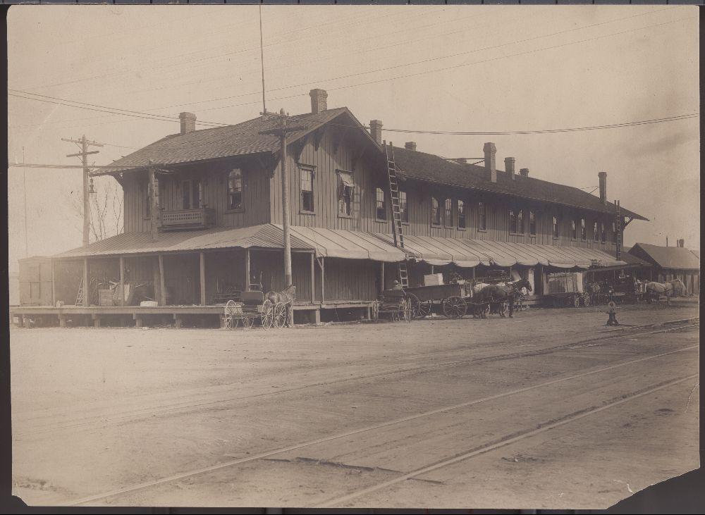Atchison Topeka and Santa Fe Railway Company depot, Topeka, Kansas