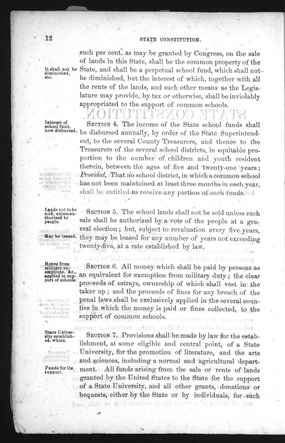 Laws and forms relating to common schools in the state of Kansas - 12