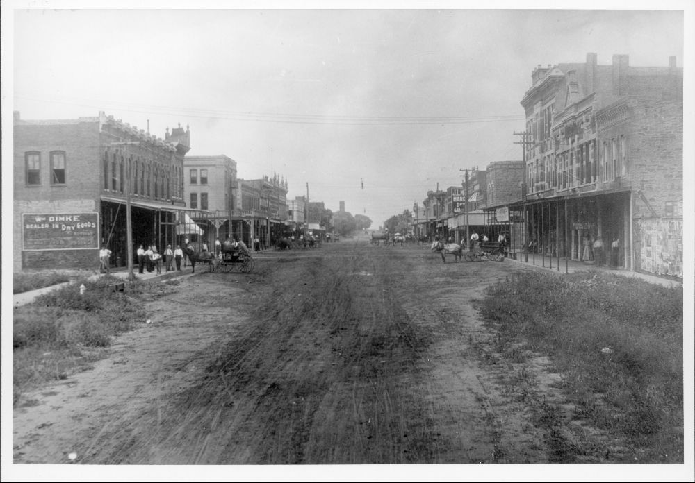 Main street, Caldwell, Kansas