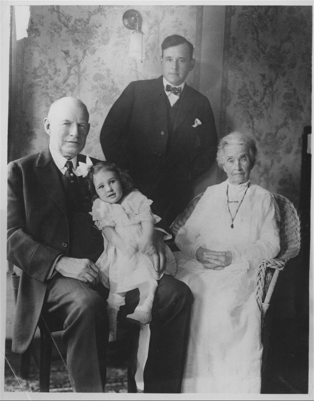 Four generations of Landons
