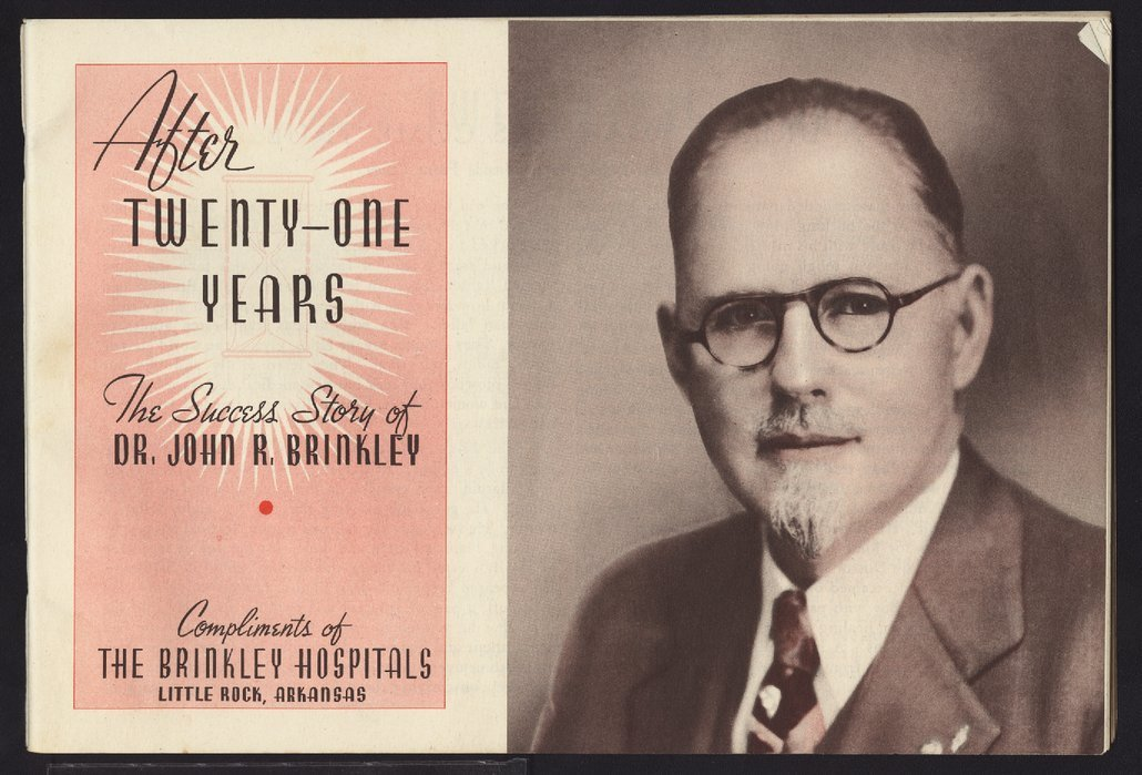 After twenty-one years:  the success story of Dr. John R. Brinkley - Title Page