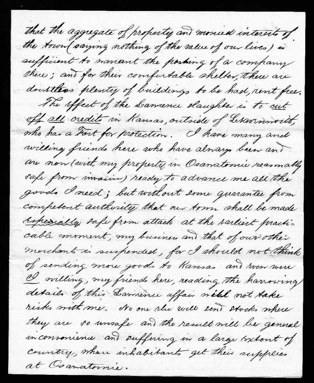 Henry Newman to Thomas Carney - 3