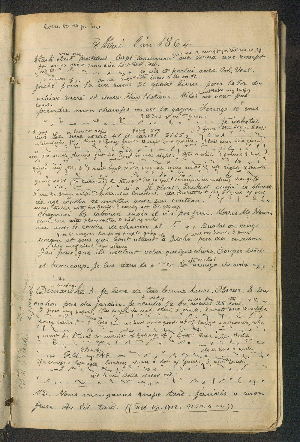 Samuel Reader's diary, volume 6 - 5