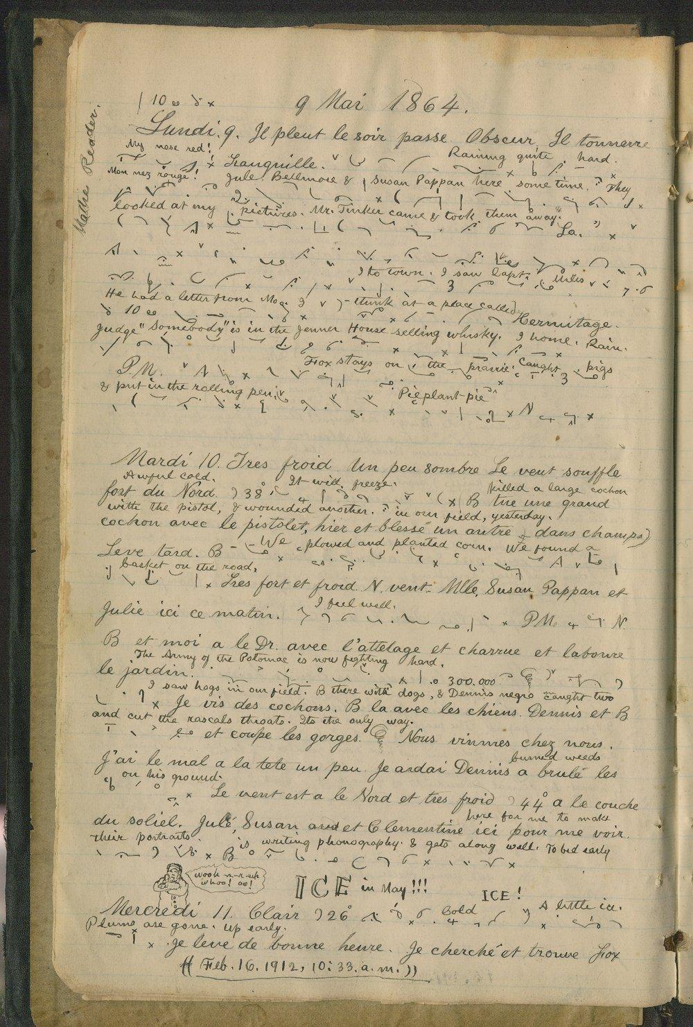 Samuel Reader's diary, volume 6 - 6