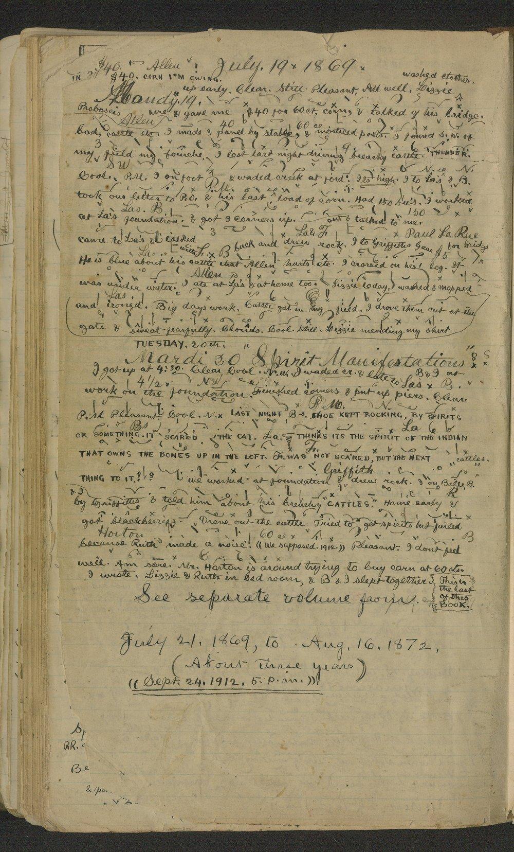 Samuel Reader's diary, volume 6 - 673