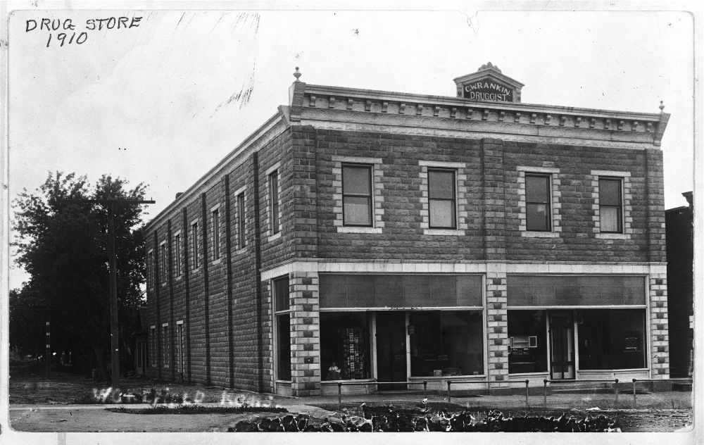 Claud Rankin Drug Store, Wakefield, Kansas