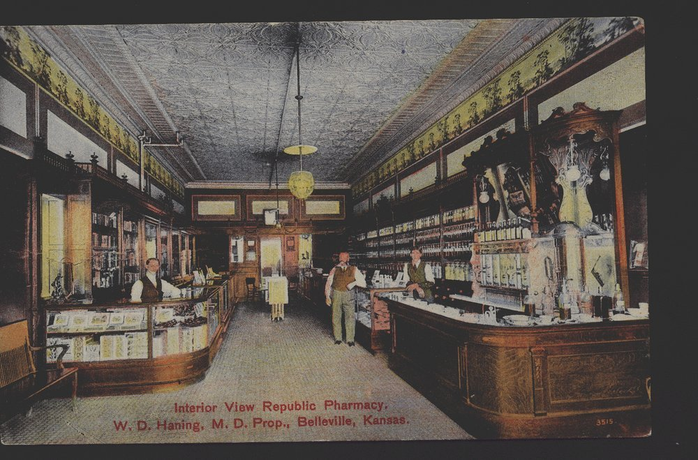 Republic Pharmacy, Belleville, Kansas