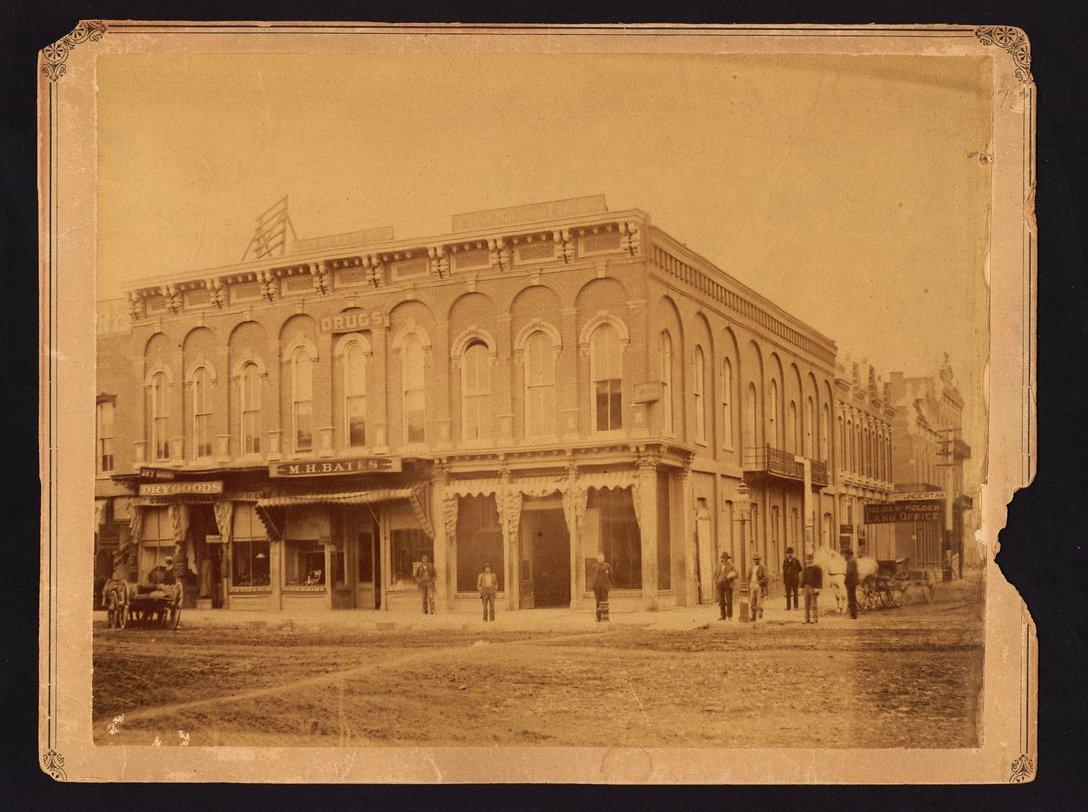 M. H. Bates Drug Store, Emporia, Kansas