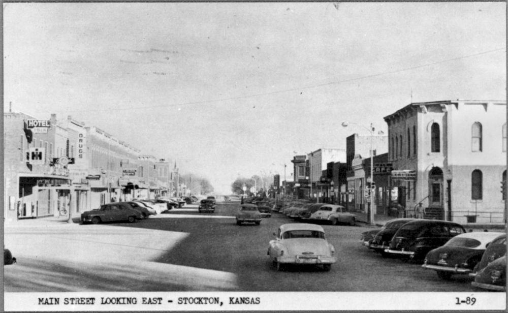 Main Street, Stockton, Kansas