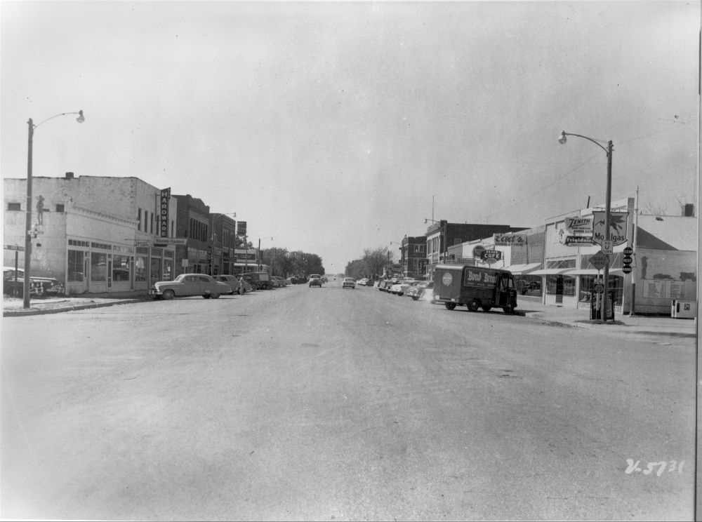 Main Street, Meade, Kansas - 2