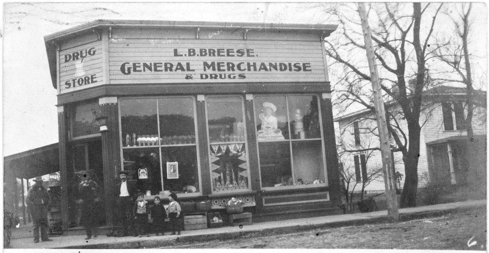 L. B. Breese General Merchandise and Drug Store, Elmdale, Kansas - 2