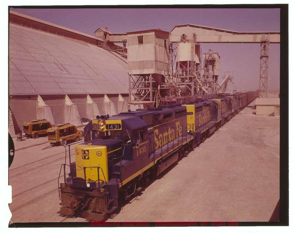 Atchison, Topeka & Santa Fe potash train, Carlsbad, New Mexico