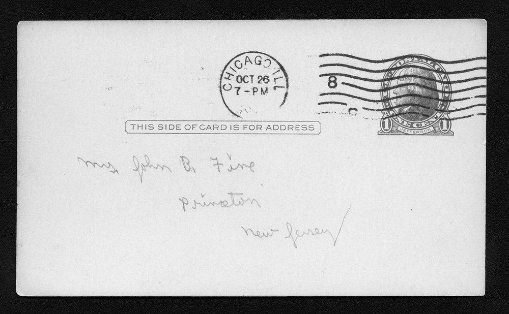 Harry Fine correspondence - 5